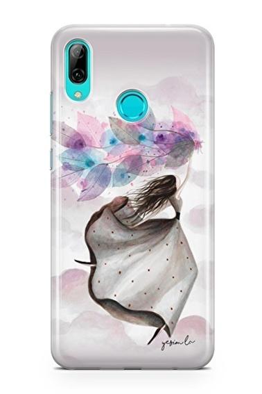 Lopard Huawei P Smart 2019 Kılıf Mutlu Peri Kapak Renkli